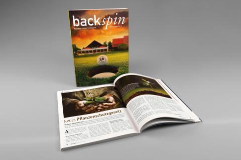"backspin"" – Magazin des Golfclubs Schönbuch e.V."